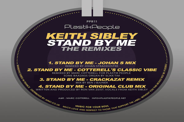 Keith Sibley - Stand By Me [Plastik People Recordings]