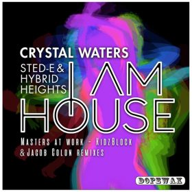 Crystal Waters, Sted-E & Hybrid Heights - I Am House [Dopewax]