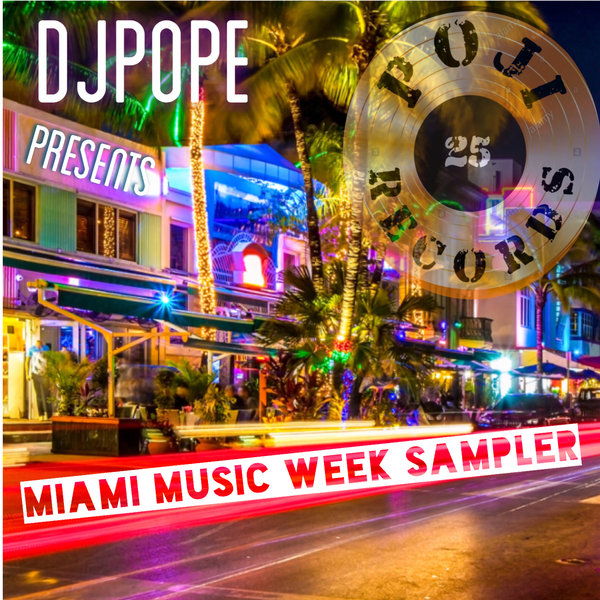 Various - Miami Music Week Sampler [POJI Records]