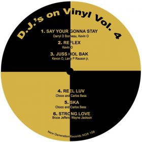 Various - DJ's On Vinyl Vol. 4 [New Generation Records]