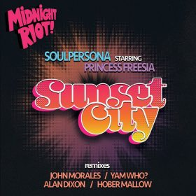 Soulpersona feat. Princess Freesia - Sunset City [Midnight Riot]
