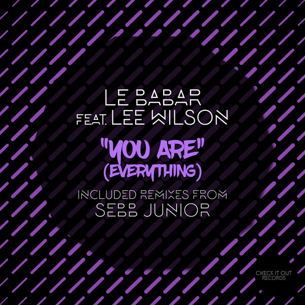 Le Babar, Lee Wilson - You Are (Everything) (Part 2) [Check It Out Records]