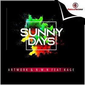 Artwork, N.W.n, Kage - Sunny Days [Pasqua Records]