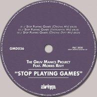 The Gruv Manics Project, Morris Revy - Stop Playing Games [Gruv Manics Digital SA]