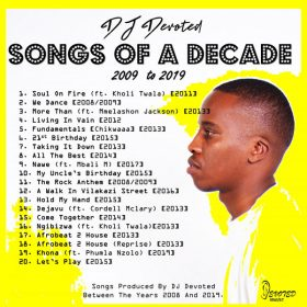 DJ Devoted - Songs Of A Decade [Devoted Music]