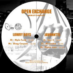 Javonntte - Open Exchange, Vol. 1 [Open Sound]