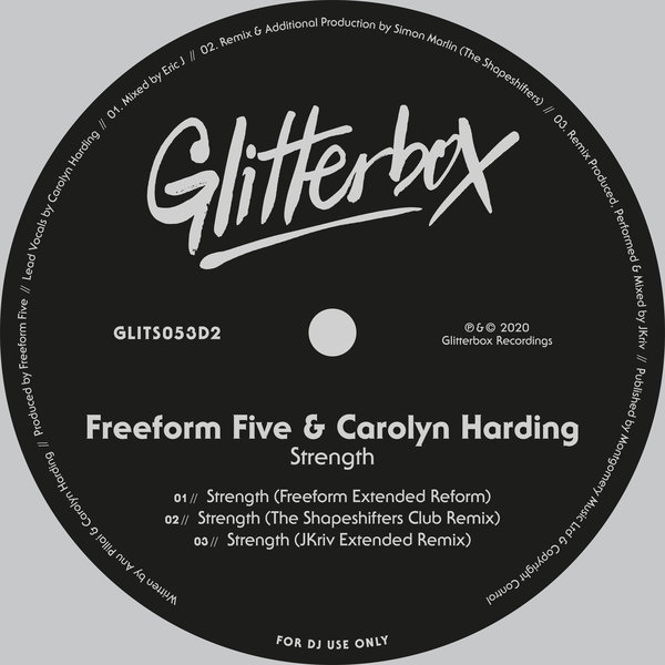 Freeform Five, Carolyn Harding - Strength [Glitterbox Recordings]