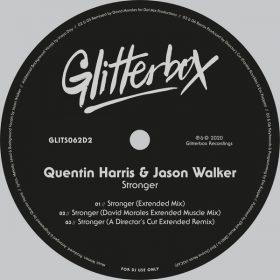 Quentin Harris & Jason Walker - Stronger [Glitterbox Recordings]