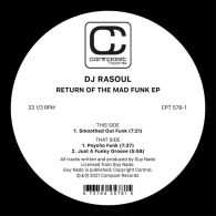 DJ Rasoul - Return of the Mad Funk EP [Compost]