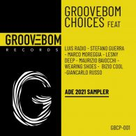 Various Artists - Groovebom Choices - ADE 2021 Sampler [Groovebom Records]